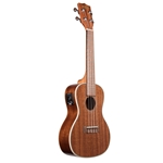 Kala Gloss Mahogany Uke with EQ