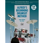 Alfred's Beginning Drumset Method Book with CD
