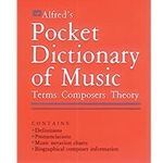 Alfred's Pocket Dictionary of Music