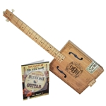 Electric Blues Box Guitar Kit with Guitar, Instruction Book and DVD