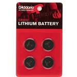 D'Addario Lithium Battery 4 Pack