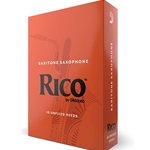 Rico Reeds for Bari Saxophone Box of 25- Choose Strength
